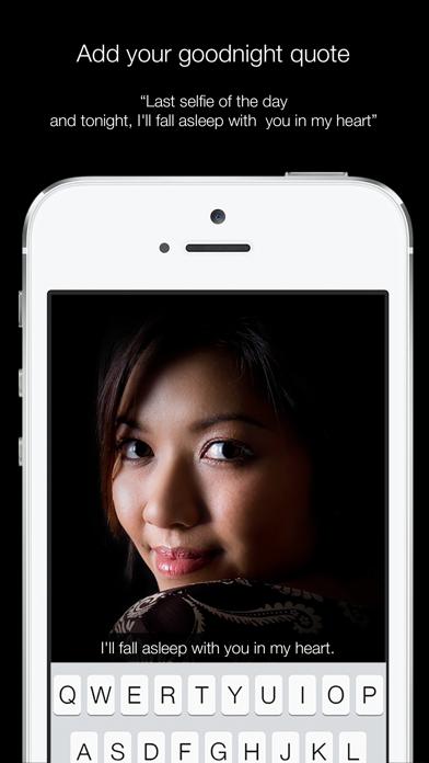 Nightly - selfies in the dark screenshot