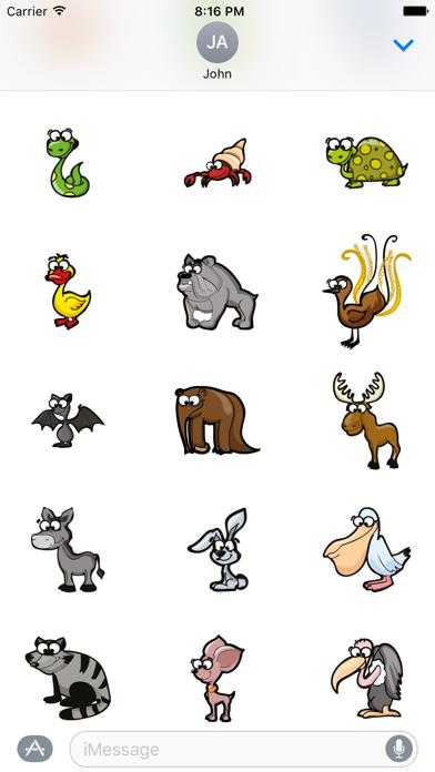 Funny Animal Stickers app image