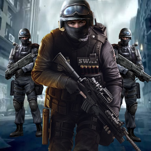 Спецназ команда Полиция снайпер Стрельба: спасание