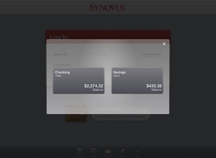 Synovus Mobile Banking for iPad screenshot-4