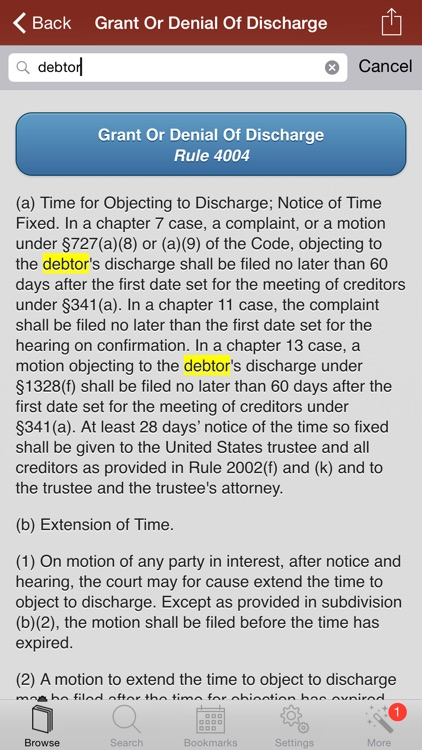 2015 Bankruptcy US Code screenshot-0