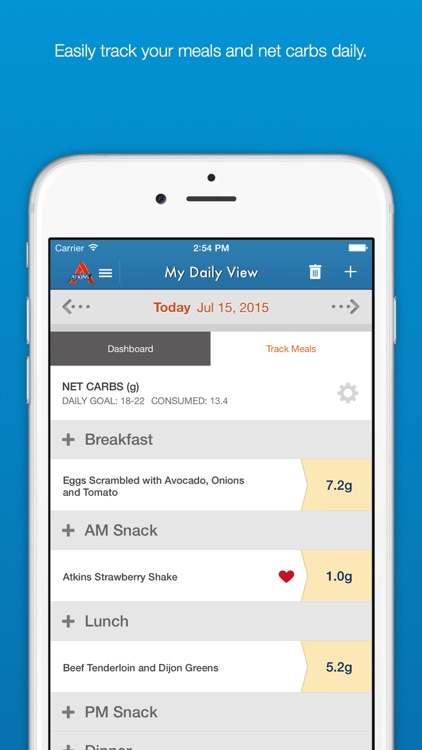 Carb Counter & Diet Tracker by Atkins
