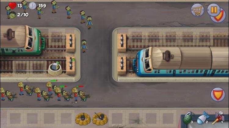 Zombie Town Defense screenshot-4