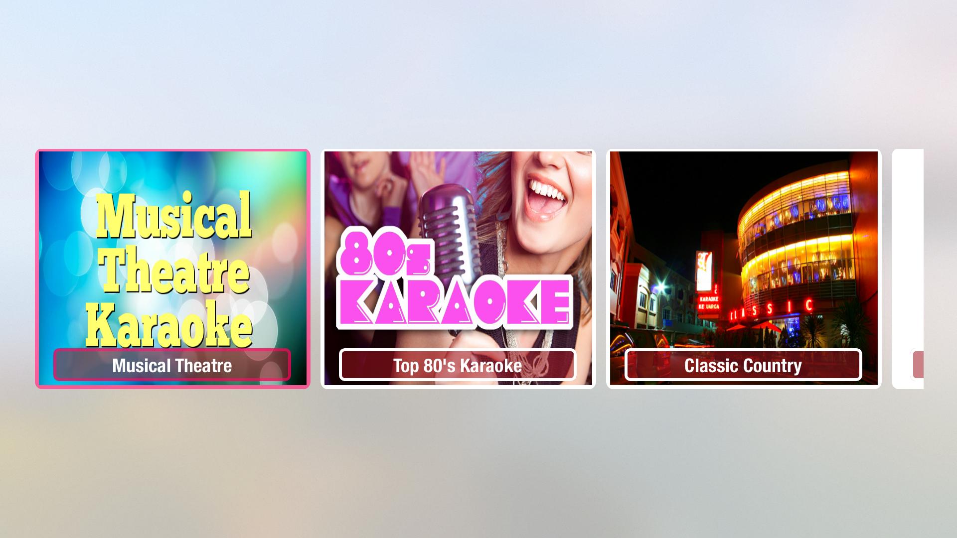 Karaoke Music - All Genres screenshot 1