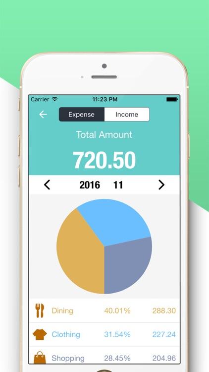 Account Tracker Next-Pocket Spending Expense Track
