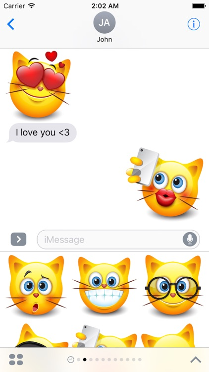 Cat Emotion Cute Sticker
