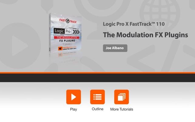 FastTrack™ For Logic Pro X FX Plugins