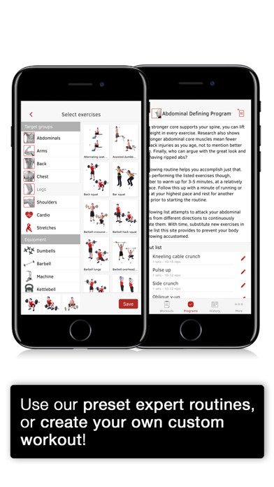 Screenshot of Full Fitness : Exercise Workout Trainer App
