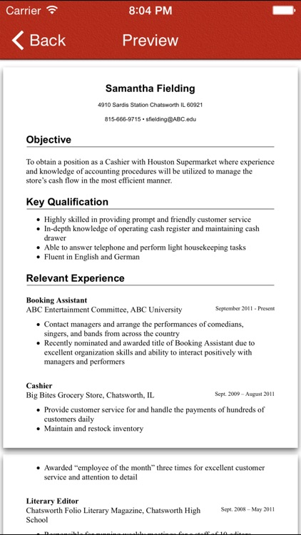 FoxResume - Design & Share professional resume