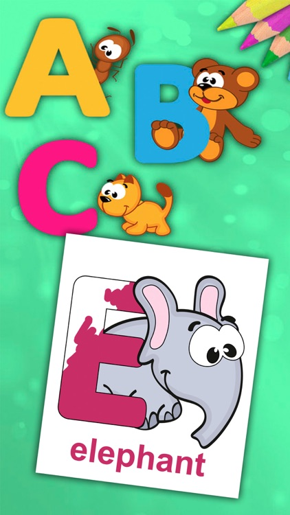 ABC Alphabet - Coloring book to learn letters screenshot-3