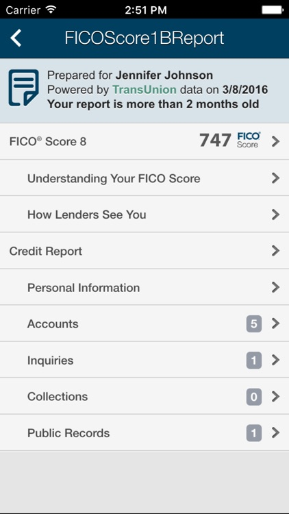 myFICO Mobile screenshot-3