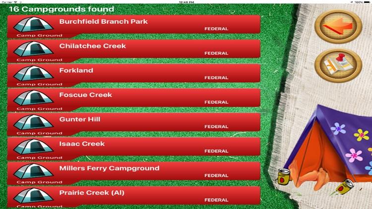 Camping Sites USA screenshot-3