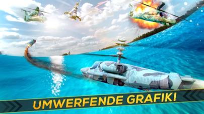Hubschrauber Krieg 3D . Flugzeug Simulator SchießScreenshot von 2