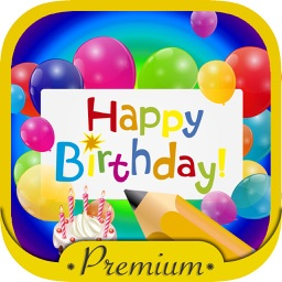Happy Birthday Cards & Frames –  Premium