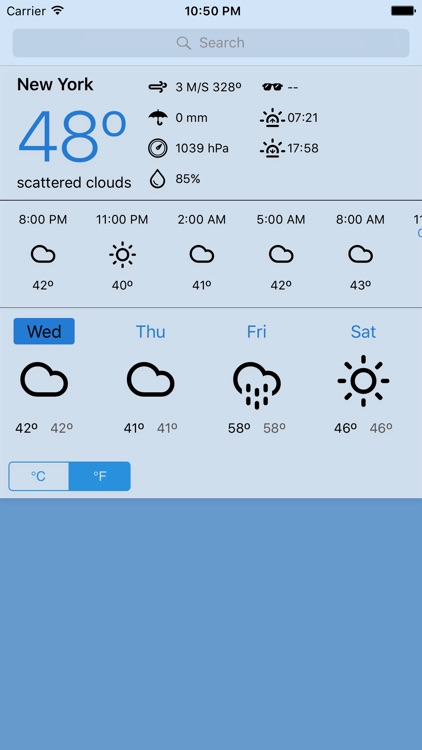 Weathr - Direct weather forecast