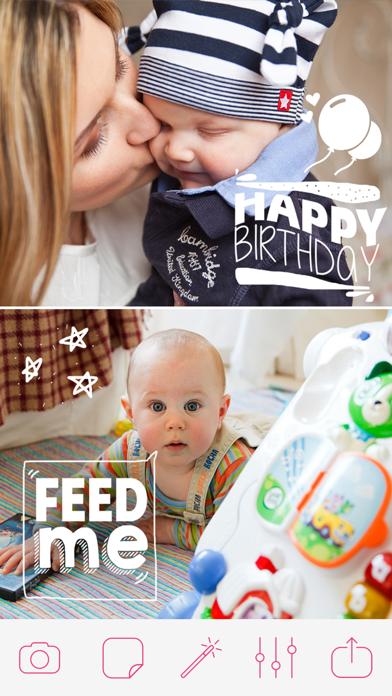 Pregnancy & Baby Milestone Photos screenshot three