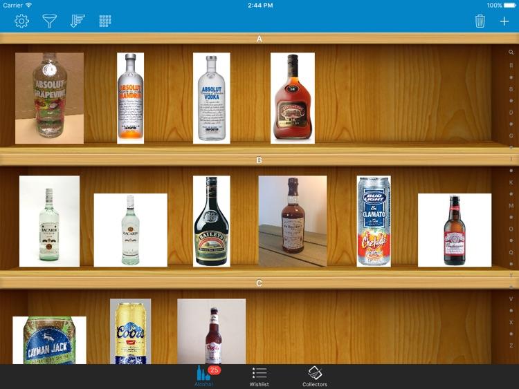 Alcohol, Beer, and Liquor Collectors for iPad screenshot-3