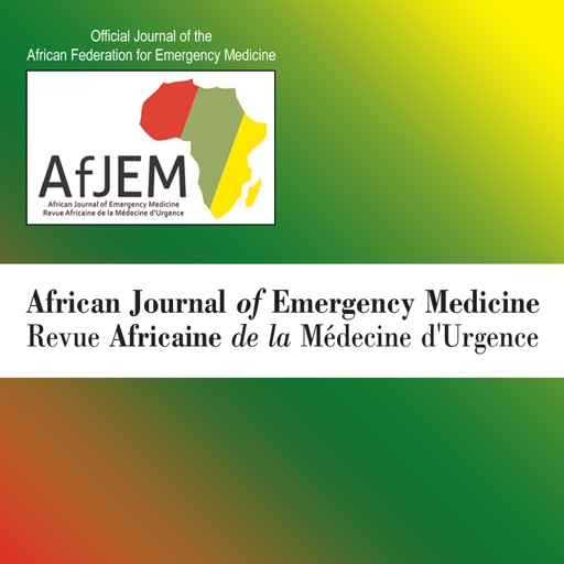 African Journal of Emergency Medicine icon