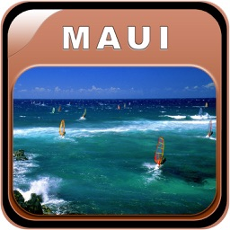Maui - Hawaii Offline Map Travel Guide