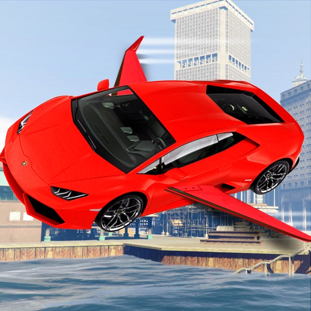 Flying Helicopter Car Game