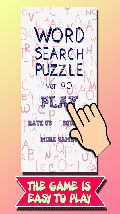 Word Search Puzzle v9.0 screenshot-0