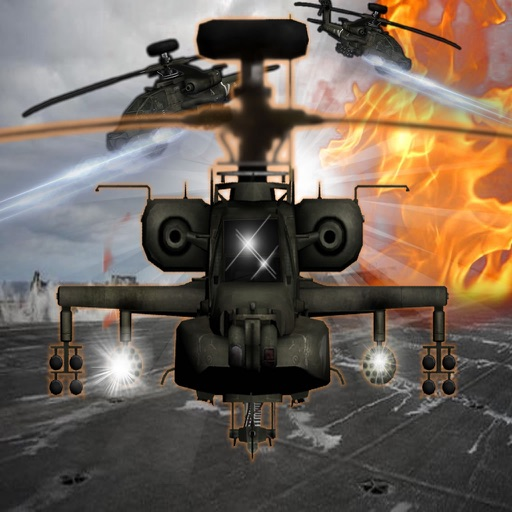 A War To The Bitter End In Copter - A Helicopter Hypnotic X-treme Game