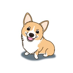 Pembroke Welsh Corgi - Dog Stickers and Emoji
