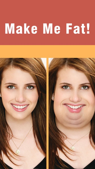Make Me Fat -Crazy Funny Plump Face Changer Boothのおすすめ画像1
