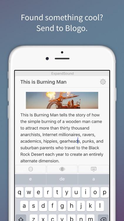 Blogo - Simple, powerful blog editor app