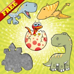 Dinosaurs Puzzles for Toddlers and Kids : Discover the Dino World ! Educational Puzzle Games ! FREE app