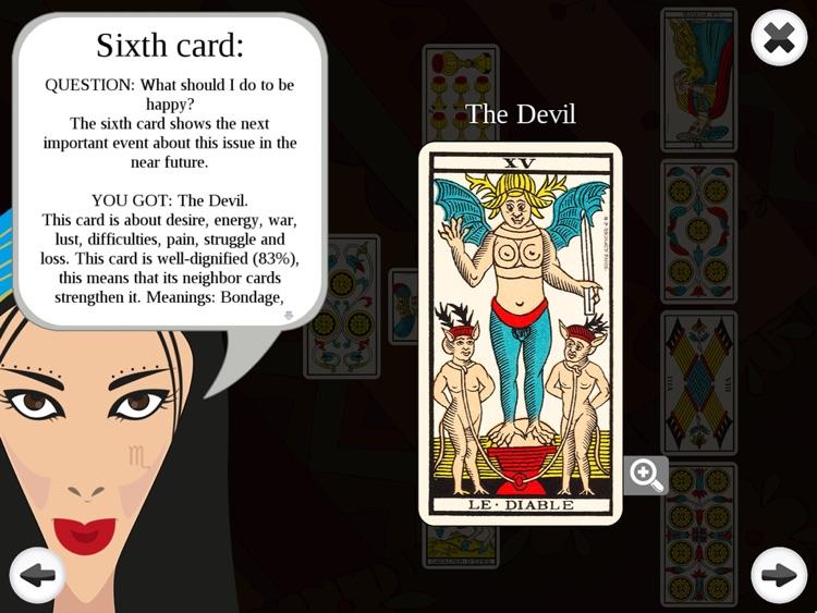 Tarot Readings Premium HD - marseilles taro screenshot-3