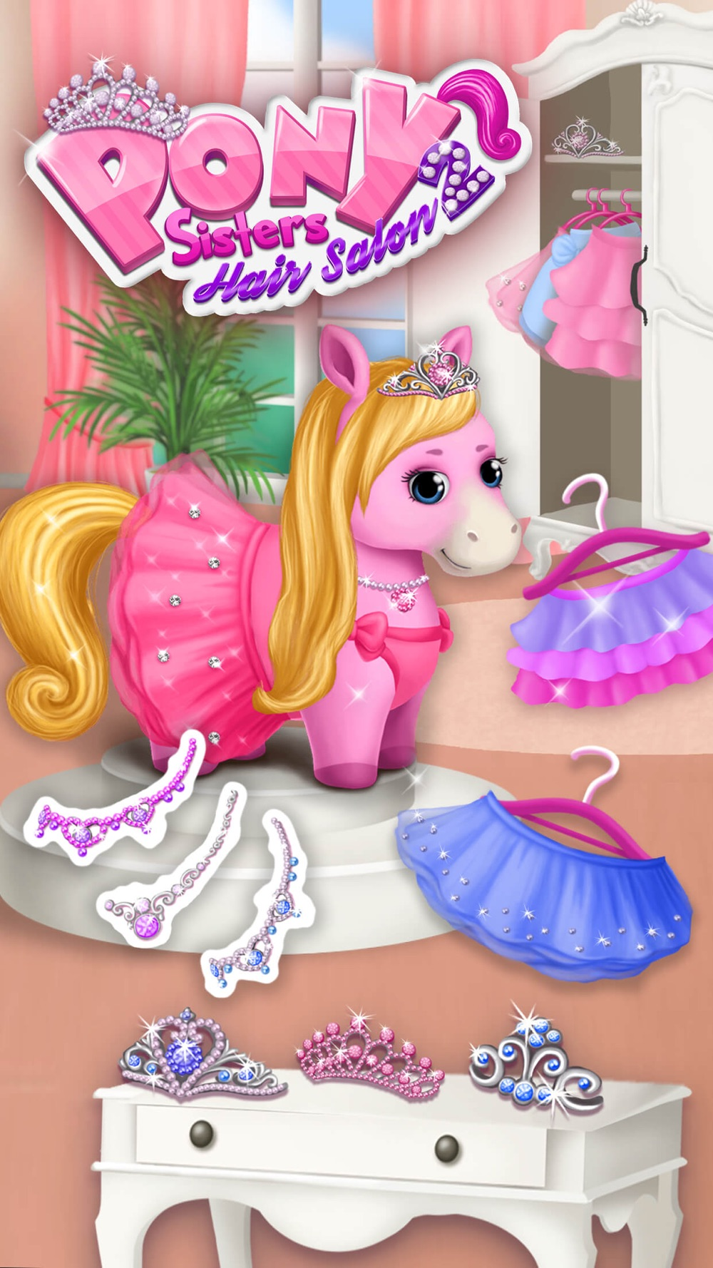 Pony Sisters Hair Salon 2 – Pet Horse Makeover Fun Cheat Codes