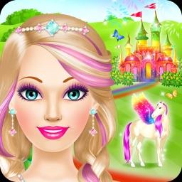 Magic Princess - Makeup & Dress Up Makeover Games