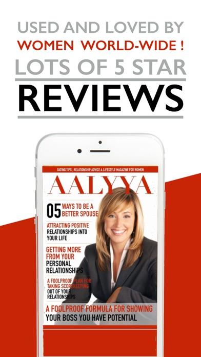 Aalyya Magazine review screenshots