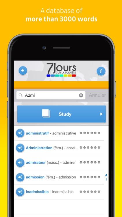 Learn French with 7 jours sur la planète