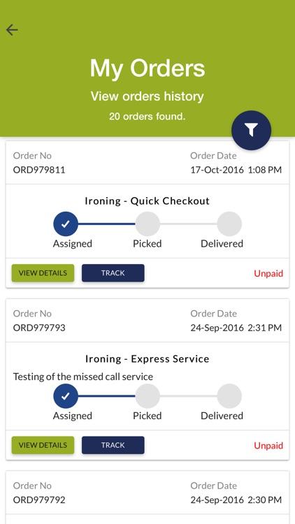 ChakaChak - Ironing & Laundry Service App screenshot-3