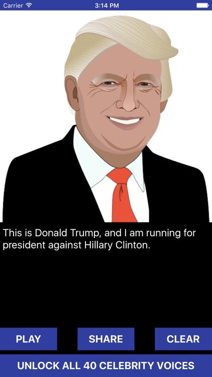 Trump Voice Changer - Celebrity Text to Speech