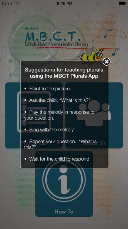 Melodic Based Communication Therapy - Plurals screenshot-4