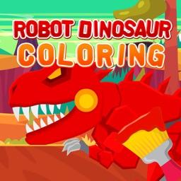 Robot Dinosaur Coloring