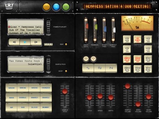 Dub Siren DX -DJ Mixer Synth + Reggae Dub Radio-ipad-0