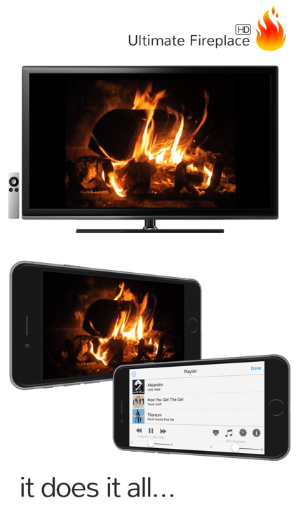Ultimate Fireplace HD for Apple TV