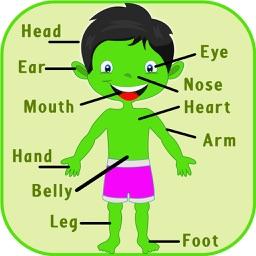 Kids Learning Body Parts – Babies preschool and kindergarten app for
