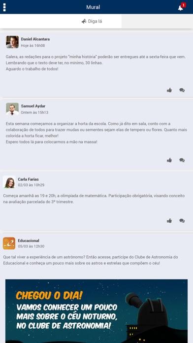 Colégio Augusto Laranja screenshot two