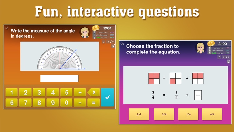 4th Grade Math : Common Core State Standards Education Enrichment Game [FULL]