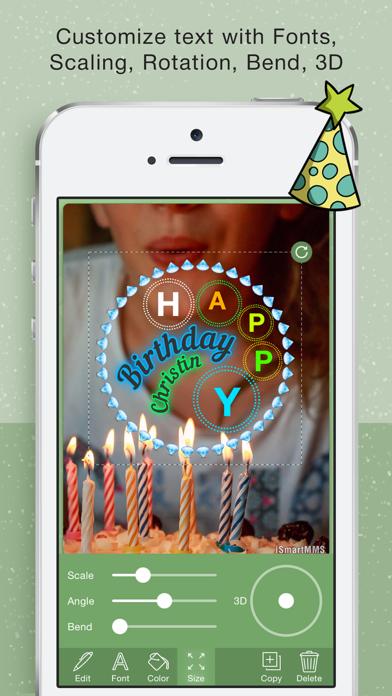 Happy BirthDay Cards Maker screenshot two