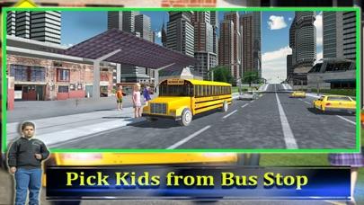 スクールバスの運転手の3D 2016:最高の無料シミュレーションゲームのおすすめ画像2