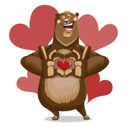 Bear Hug Sticker Vol 01