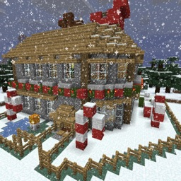 Christmas House guide for minecraft