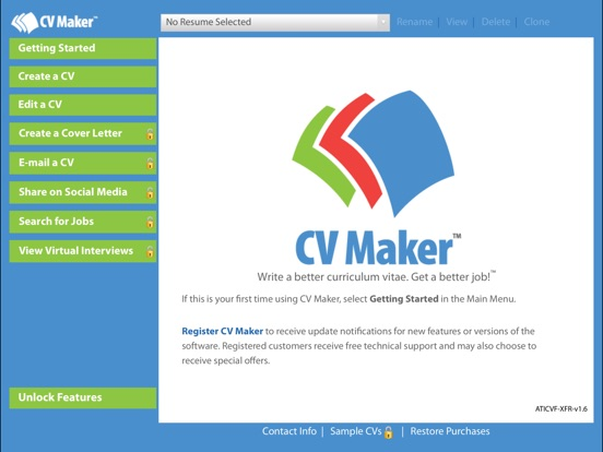 cv maker free app price drops