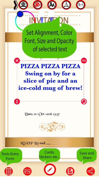 Party Invitation Card Maker